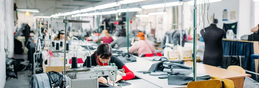 emploi textile
